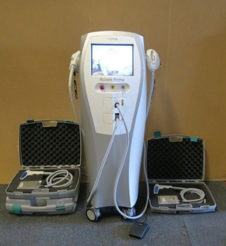 Alma Laser Accent Prime RF Body Contouring Skin Tightening Beauty Machine